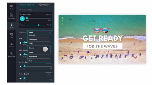 InVideo's AI-powered editor automates video creation process