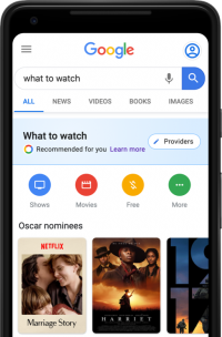 Oscars Get Dedicated Google Search, Assistant Experience