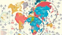 This map shows which companies have lasted hundreds (and even thousands) of years