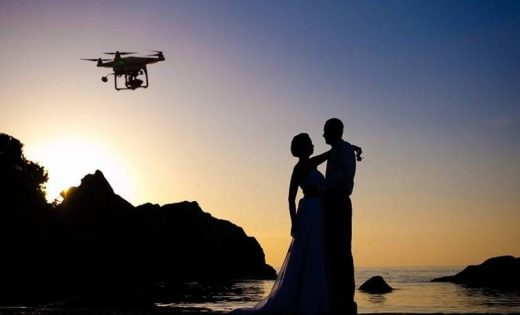 What You Need to Know to Use Drones for Your Wedding