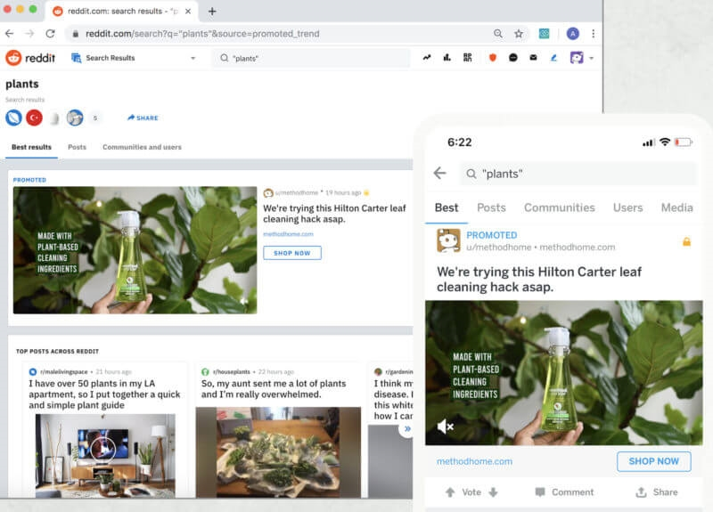 Reddit's new 'Trending Takeover' ad unit lets brands appear on top of Popular feed, Search tab | DeviceDaily.com