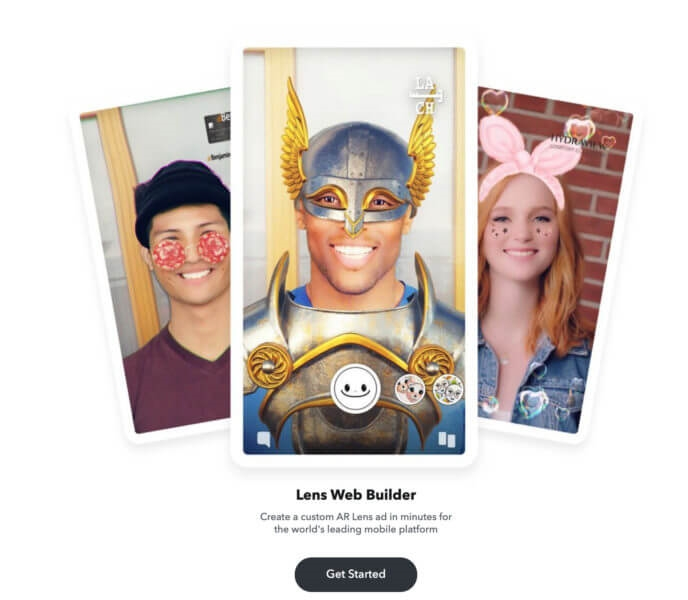 Snapchat debuts Lens Web Builder to create AR campaigns in minutes | DeviceDaily.com
