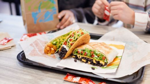 Taco Bell is launching an all-vegetarian menu feature with 50 meat-free items