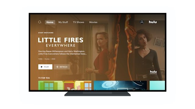 Hulu is rolling out a new home screen to Apple TV and Roku users | DeviceDaily.com