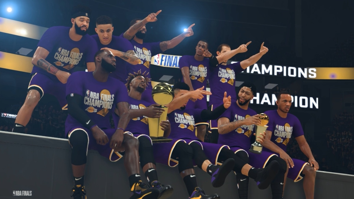 NBA 2K's simulated playoffs crown the LA Lakers champs for 2020 | DeviceDaily.com