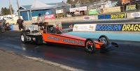 An electric dragster has passed 200MPH for the first time