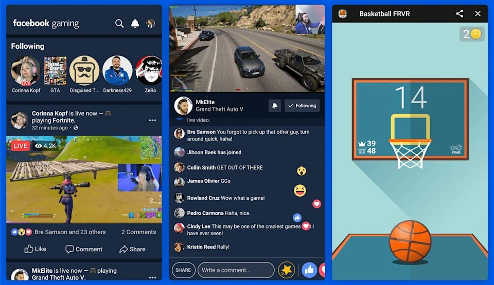 Facebook's dedicated gaming app is now available on Android | DeviceDaily.com