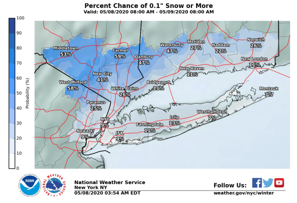 May snowstorm: 4 ways to track the Northeast's freakish 'winter' weather weekend | DeviceDaily.com