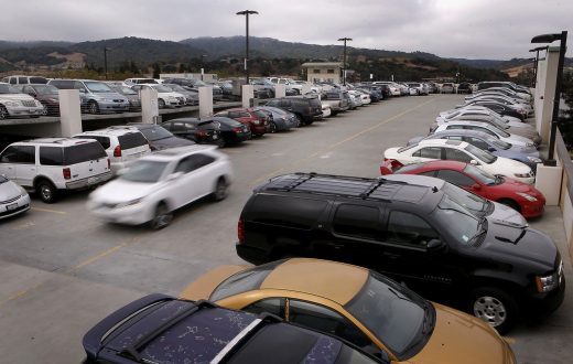 Parking Lots Are Turning Into Waiting Lots, Plus Other Changes and Patterns
