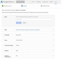 Track Mobile Call Conversions in Google AdWords
