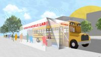 We could turn out-of-use school buses into low-cost mobile COVID test labs