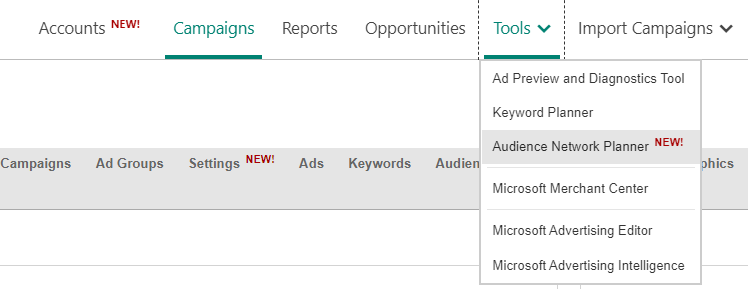 Here's how to use the new Microsoft Ads Audience Network Planner | DeviceDaily.com