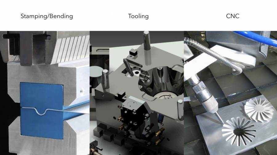 CNC Tooling Stamping / Manufacturing methods for hardware products | DeviceDaily.com