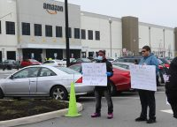 Amazon workers sue over alleged failure to follow COVID-19 guidelines