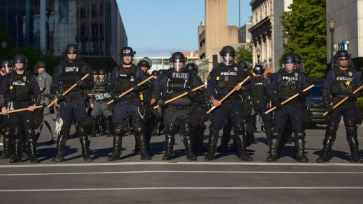 As cities make deep cuts because of COVID-19, police departments are keeping their funding