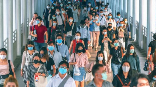 Countries where everyone wore masks saw COVID death rates 100 times lower than projected