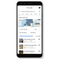 Google Hotel Search Guide Launches For COVID-19 First Responders