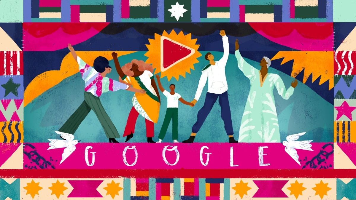 Google marks Juneteenth with a video doodle and historical information | DeviceDaily.com
