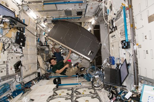 Space Station receives the last of NASA's science racks after 19 years