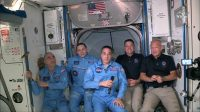 SpaceX's pioneering astronauts board the International Space Station