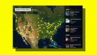This interactive map shows police violence during protests
