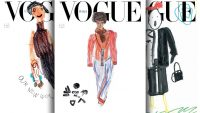 Vibrant kids drawings grace the June cover of 'Vogue' Italia to illustrate 'Our New World'