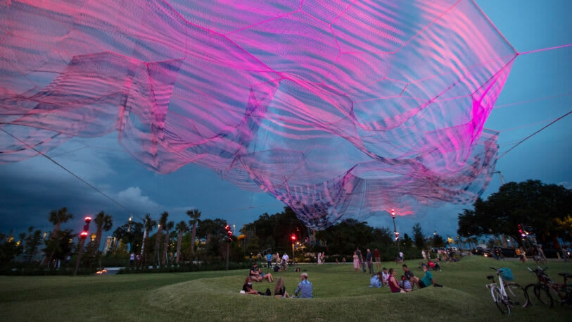 This new aerial sculpture in Florida is gorgeous. It's also a haunting reminder of an ugly past | DeviceDaily.com