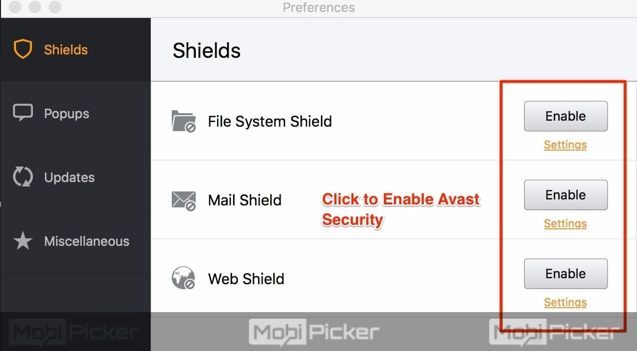 How to Disable Avast Antivirus on Windows and Mac OS ...