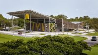At this new net-zero energy McDonald's, on-site solar provides 100% of the power