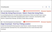 Google Removes Ads Promoting Voting Misinformation, Scams