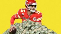 Quarterback Patrick Mahomes signs the most lucrative deal in sports history