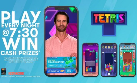 Tetris is now a daily game show with cash prizes