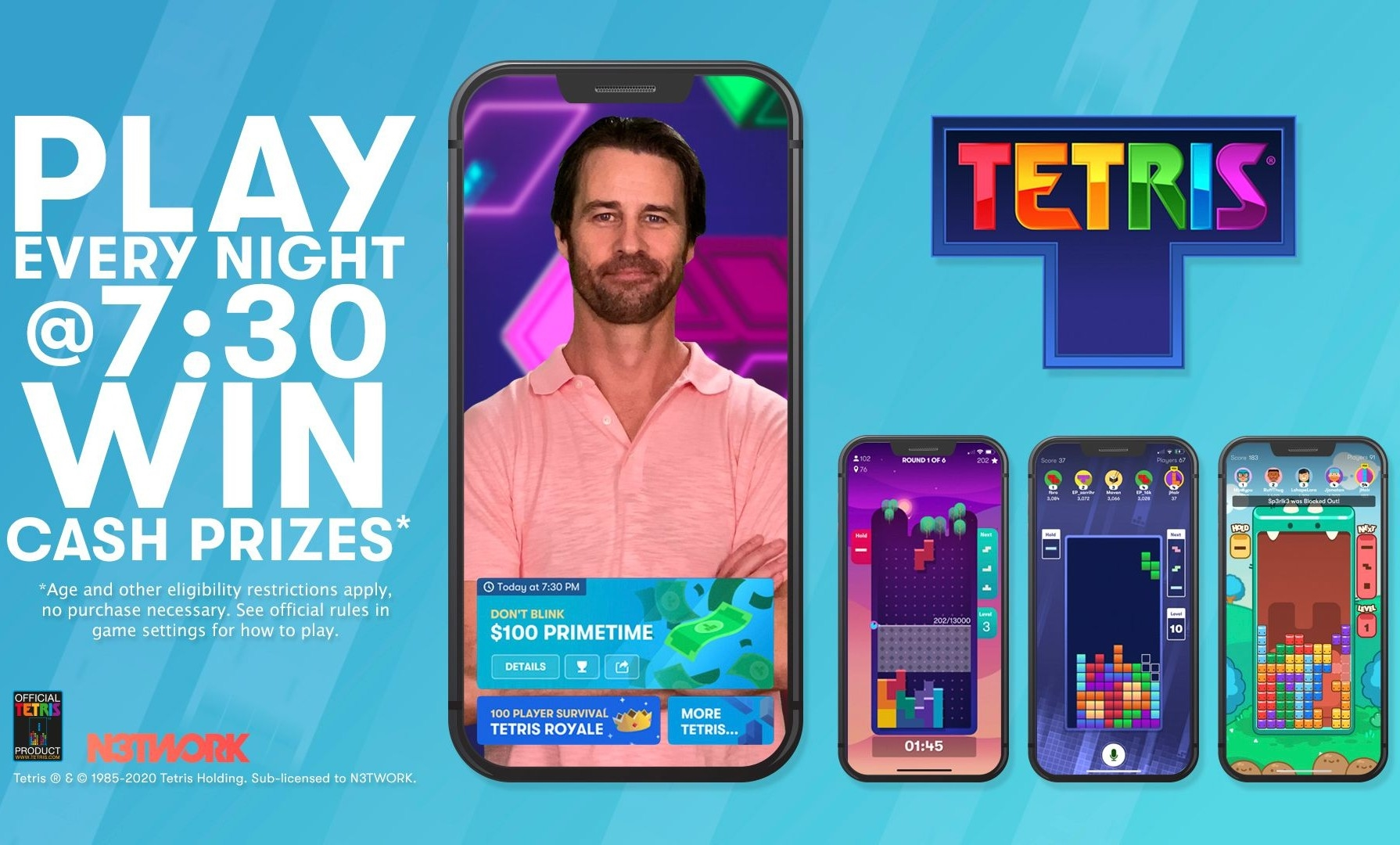 Tetris is now a daily game show with cash prizes | DeviceDaily.com
