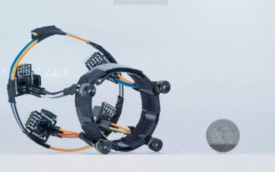 Wrist-mounted wearable tracks your hand in 3D using thermal sensors | DeviceDaily.com
