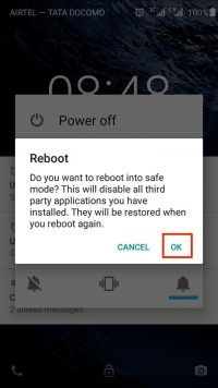 How to Turn On / Off Safe Mode on Android Smartphones