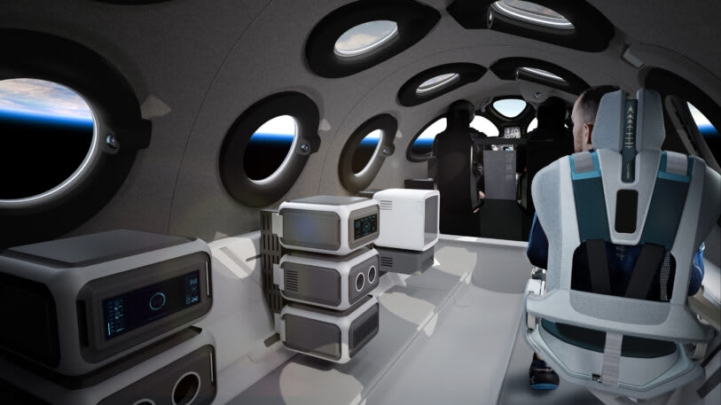 A first look inside Virgin Galactic's glamorous new spaceplane | DeviceDaily.com