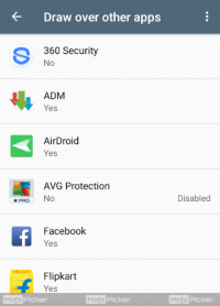 How to Turn Off Screen Overlay Detected in Android
