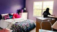 For college students trapped at home, redecorating childhood bedrooms is the latest assignment