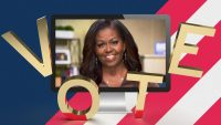 Michelle Obama's 'Vote' necklace went viral. Will it help us get to the polls?