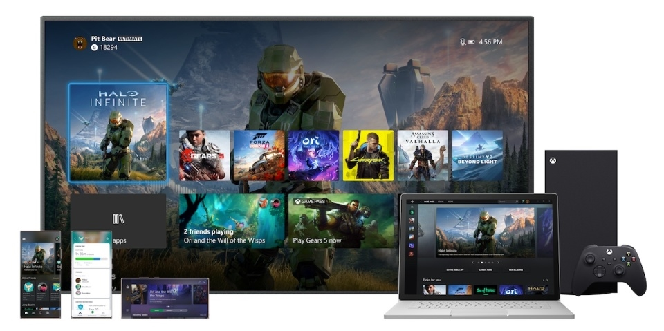 Microsoft's new Xbox UI stretches across One, Series X, PC and mobile   DeviceDaily.com