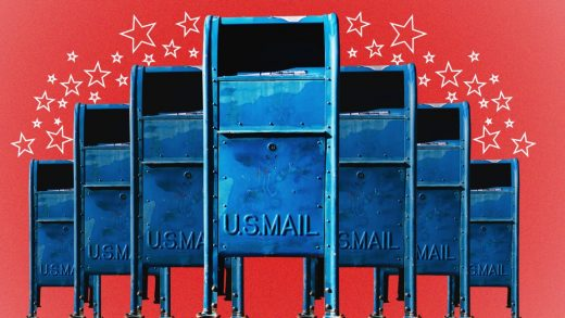 Politics and the post office: Americans are split right down the middle about voting by mail
