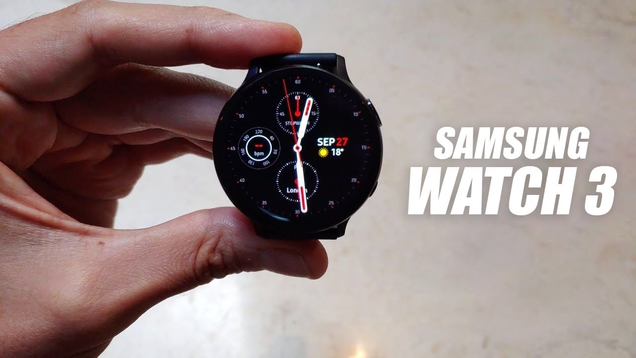 Samsung Galaxy Watch 3 leaks again in detailed hands-on video | DeviceDaily.com