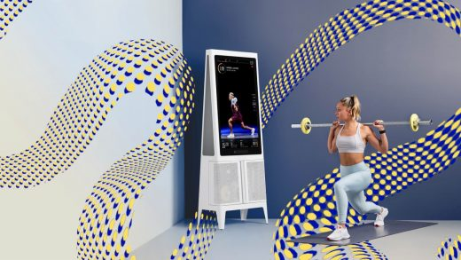 This AI-powered home gym is like having a personal trainer in your living room