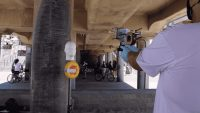 This mask-shooting gun solves the American problem of not wearing masks