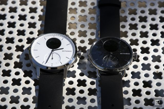 Withings' ScanWatch is the best hybrid smartwatch I've tried so far | DeviceDaily.com