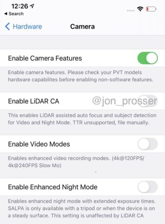 Exclusive: The iPhone 12 Pro camera will use Sony's lidar technology | DeviceDaily.com