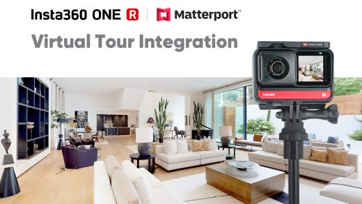 360-degree virtual tours are easier to make with Insta360 and Matterport