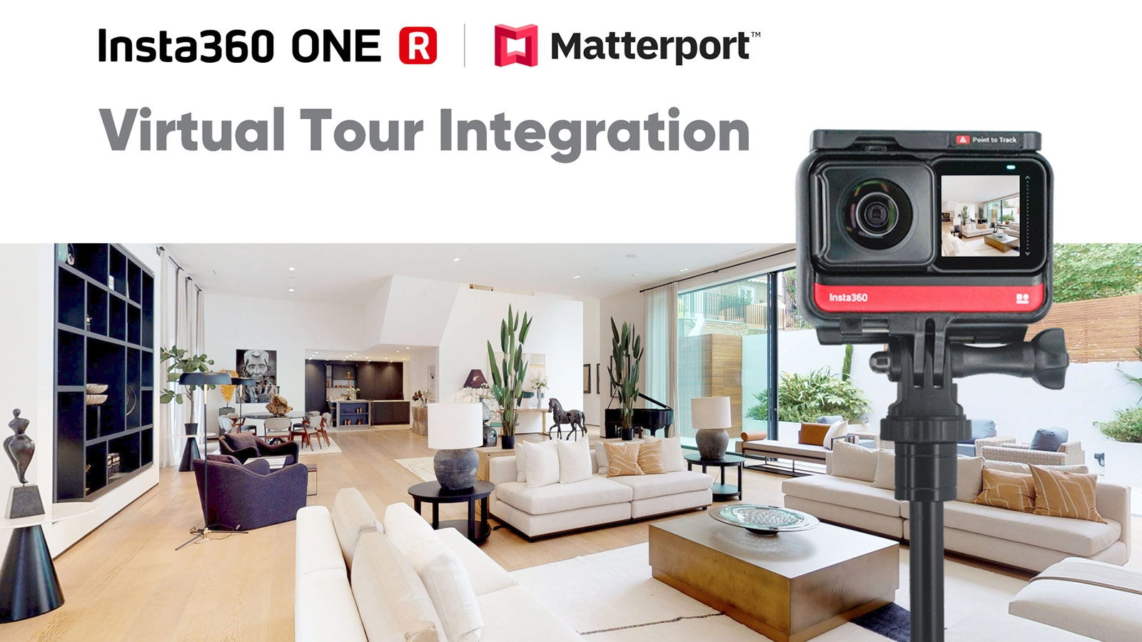 360-degree virtual tours are easier to make with Insta360 and Matterport | DeviceDaily.com