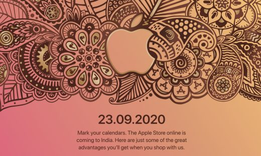 Apple's online store is opening in India on September 23rd
