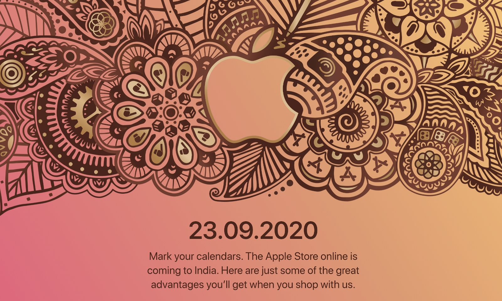 Apple's online store is opening in India on September 23rd | DeviceDaily.com
